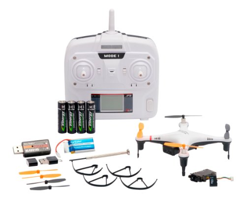 Nine Eagles GALAXY VISITOR2 camera SD card with RTF Kit White (2.4GHz 4ch Multi-Copter)