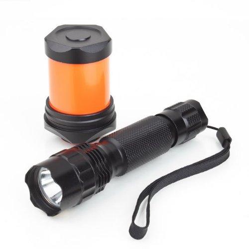 Sipik Cree Xr-E Q3 3-Mode 175 Lumen Led Flashlight Electric Torch Ck66 Hs