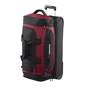 Scarecrow Dx 70cm Rolling Luggage Wheeled Holdall Rolling Duffel Red