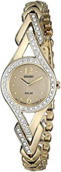 Seiko Crystal-Accented Women's Watch