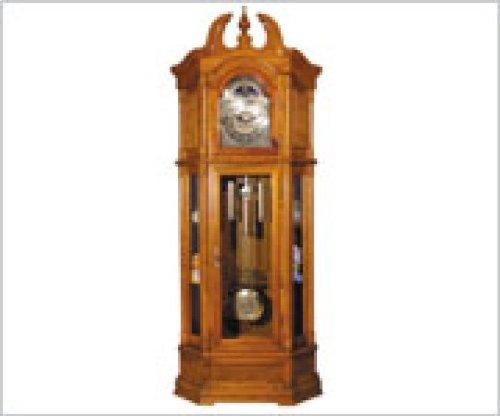 Acme Furniture 01410 Rissa Oak Grandfather Clock in Traditional Style