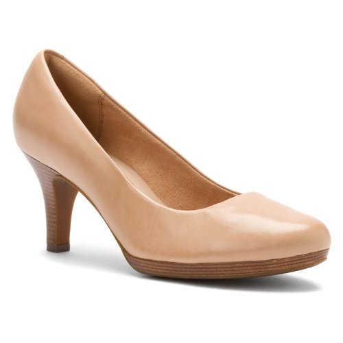 Clarks Women's Tempt Appeal Nude 6 W US