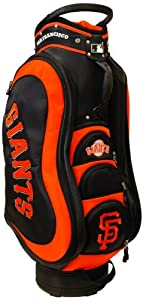 MLB San Francisco Giants Medalist Cart Golf Bag, Black by Team Golf