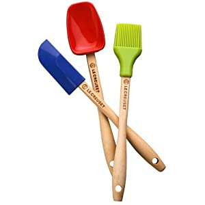 Le Creuset 3 piece Mini Utensil Set