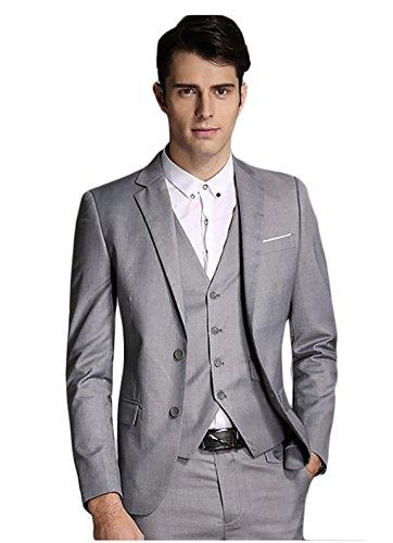 hombre-modern-fit-3-piezas-suit-blazer-chaqueta-tux-chaleco-y-pantalones-gris-gris-3xl