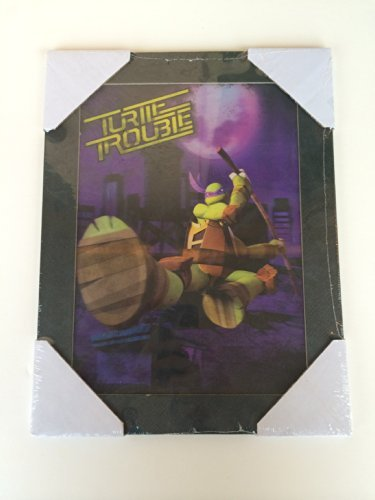 """Turtle Trouble""- 3D Ninja Turtle Wall Art - 1"