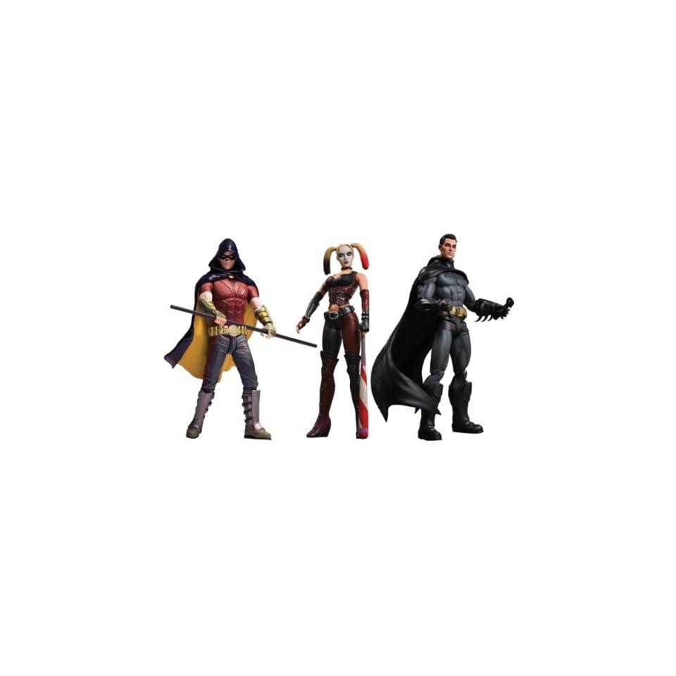 Batman Arkham City Series 1 Figure Set Of 3
