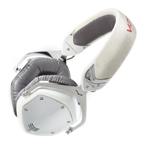 V-MODA Crossfade LP Over-Ear Noise-Isolating Metal Headphones - White Pearl