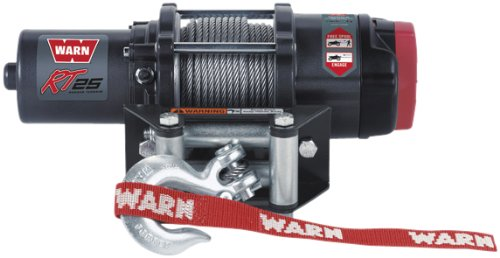 Review WARN 75000 Rugged Terrain RT25 2500-lb Winch