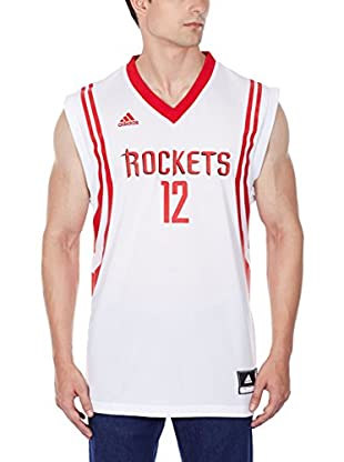 adidas Camiseta sin mangas Houston Rockets Howard (Blanco / Rojo)