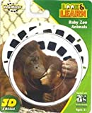Baby Zoo Animals Look & Learn ViewMaster 3 Reel Set