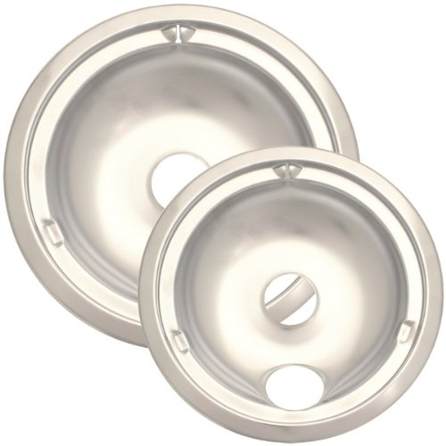 Range Kleen 179802Xcd5 Style C Two-Pack Porcelain Drip Pans