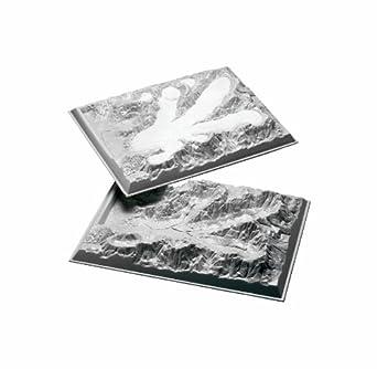 "American Educational Plastic Alpine Glacier Model, 24"" Length x 18"" Width (Set of 2)"