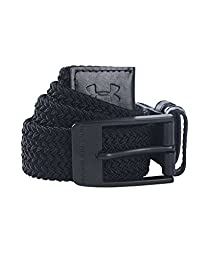 Under Armour Men\'s Braided Belt, Black (001), 34