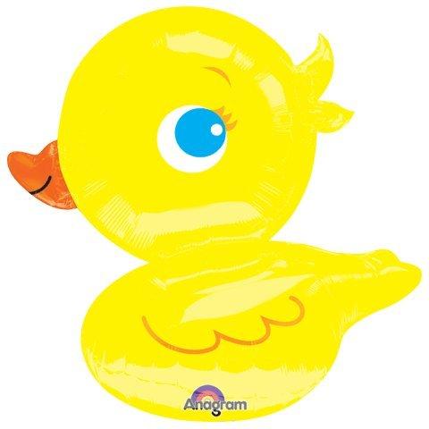Yellow Ducky Ultra Shape Mylar Balloon