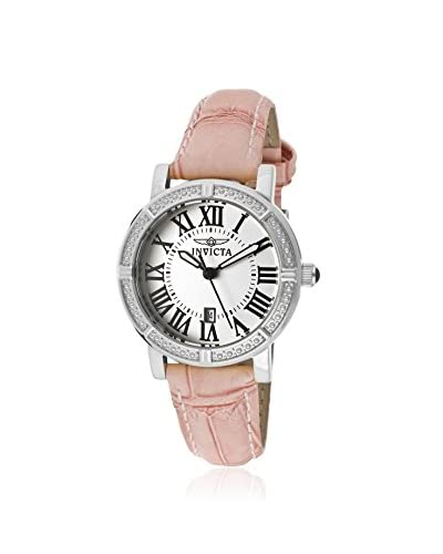 Invicta Women's 13967 Wildflower Pink/Silver Stainless Steel Watch As You See
