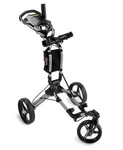 Bag Boy TriSwivel Push Cart, Silver
