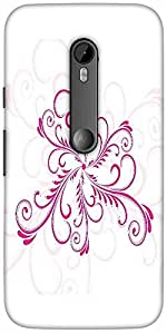 Snoogg Abstract Cool Pattern Tattoo Designer Protective Back Case Cover For M...