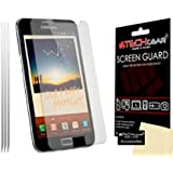 **PACK OF 3** - SAMSUNG GALAXY NOTE / i9220 / GT-N7000 CLEAR Screen Protector with cleaning cloth - Hi-TEC ESSENTIALS