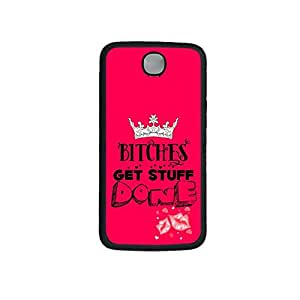 Vibhar printed case back cover for Nexus 6 GetDone