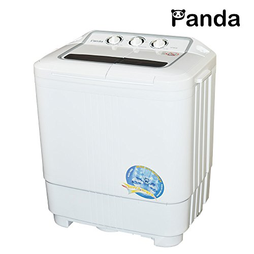Panda Small Compact Portable Washing Machine 7.9lbs Capacity with Spin Dryer (Washing Machines Portable compare prices)