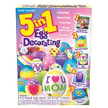 5-in-1 Easter Egg Decorating Kit - 1