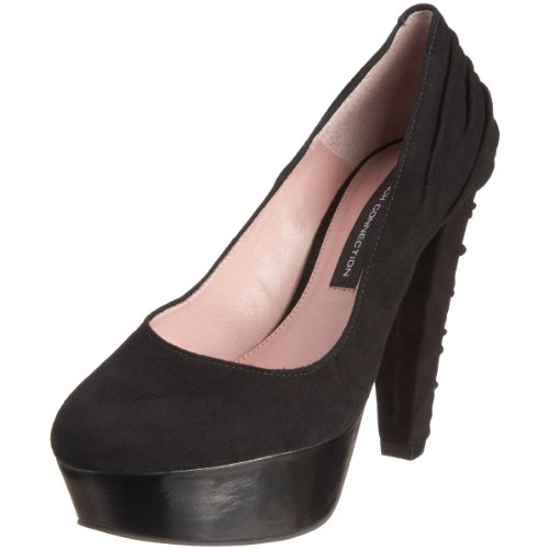 French Connection Women's Julian Black Platform Heels 1516300209 5 UK