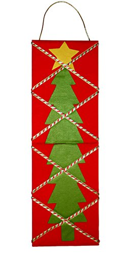 Christmas Tree Memory Board Card Holder Holiday Wall Decor (Wall Display Cards compare prices)