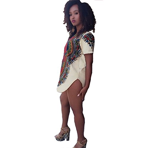 Blooming-Jelly-Womens-Summer-Style-Stretch-Loose-Print-T-Shirt-Dress