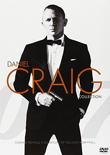 007 - Collezione Daniel Craig - Casino Royale + Quantum of solace + Skyfall [3 DVDs] [IT Import]