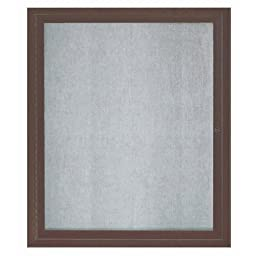 Aarco Products ODCC3630RBA 1-Door Outdoor Enclosed Bulletin Board - Bronze Anodized