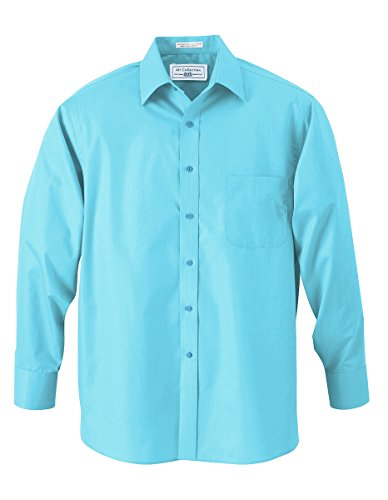 Boys Tiffany Blue Designer Button Down Dress Shirt (Tiffany Blue Shirt compare prices)