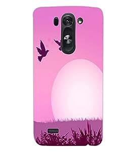 ColourCraft Love Birds Design Back Case Cover for LG D722 K