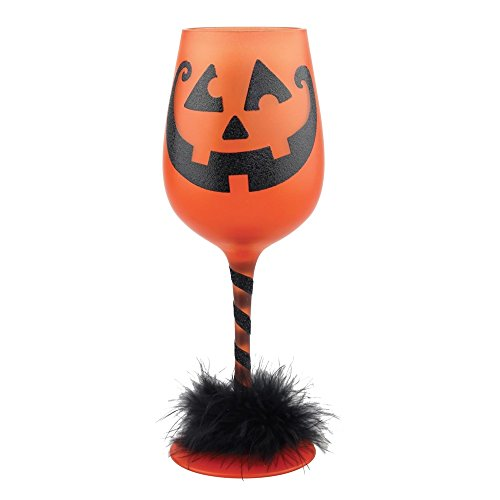 Get Smashed Halloween Wine Glass 15oz (Halloween Wine Glasses compare prices)
