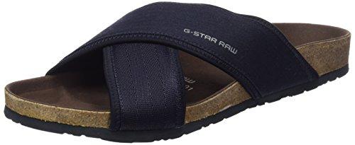 G-Star Raw Uomo, Sandalo, Command Sandal, Grigio (Dk Navy-881), 42