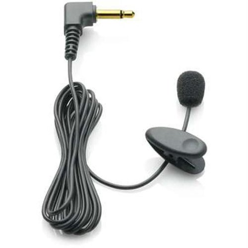 Philips - Lapel/Tie Clip Microphone 9173 For Digital Voice Recorders/Tracers