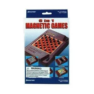 Click to read our review of 6 in 1 Travel Magnetic Games!