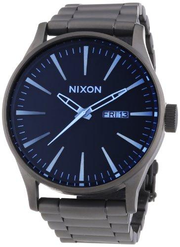 Nixon A3561427-00 - Orologio da polso uomo, acciaio inox, colore: argento