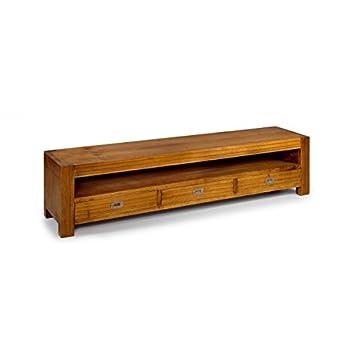 Moycor - Mueble tv nuevo hogar 3 cajones 1 hueco 190 x 40 x 40 cms - 30155