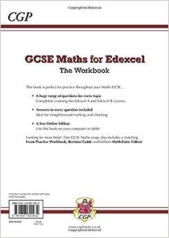 Edexcel gcse maths student book answers