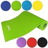 Gymnastikmatte Yogamatte Pilatesmatte Übungsmatte in verschiednen Farben Grün 190 x