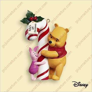 HALLMARK KEEPSAKE BABY'S FIRST CHRISTMAS WINNIE THE POOH COLLECTION 2006 - 1