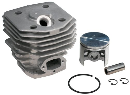 Piston & Cylinder KIT Husqvarna Replaces Husqvarna 503 50 39-01 ,503 50 39-02, & 503503903 piston assy 38mm fits hus chainsaw 136 137 cylinder kit chain saw zylinder koblen w piston pinring clips repl 530069944