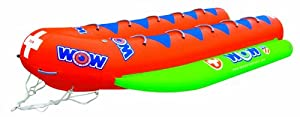 10-Person Closed Bow Banana Boat by WOW Sports