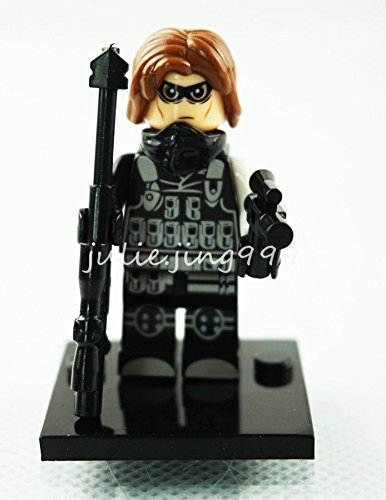 Mini Figures Super Heroes Avengers Winter Soldier Bucky Movie Building Toys Gift