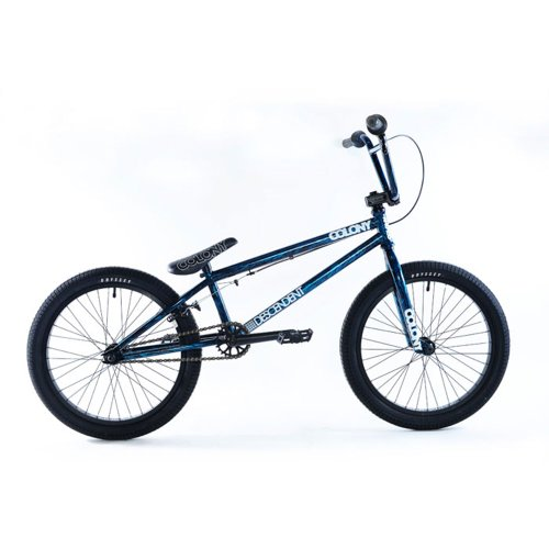 Colony 20.85-Inch Descendent Bike, Clear-Blue