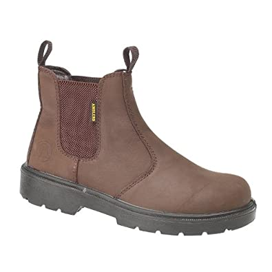 Amblers Steel FS128 Boot / Womens Ladies Boots (3 UK) (Brown)