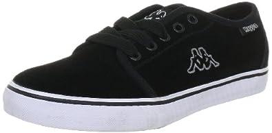 Kappa JAMBA LOW 241535, Unisex - Erwachsene Fashion Sneakers, Schwarz (black / grey 1116), EU 39