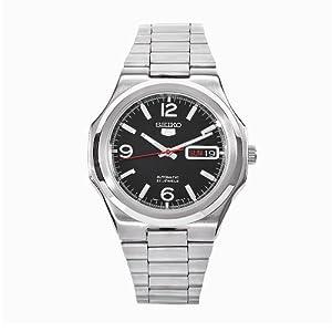 Seiko Herren-Armbanduhr XL Analog Automatik Edelstahl SNKK59K1