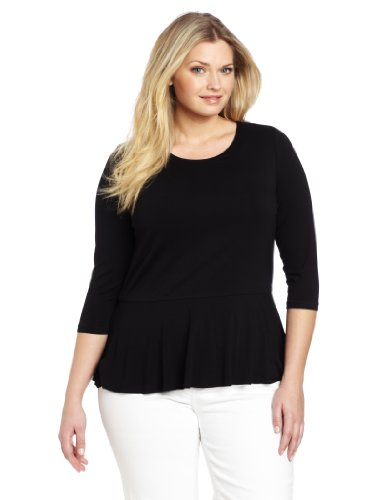 Vince Camuto Womens Plus Size Peplum